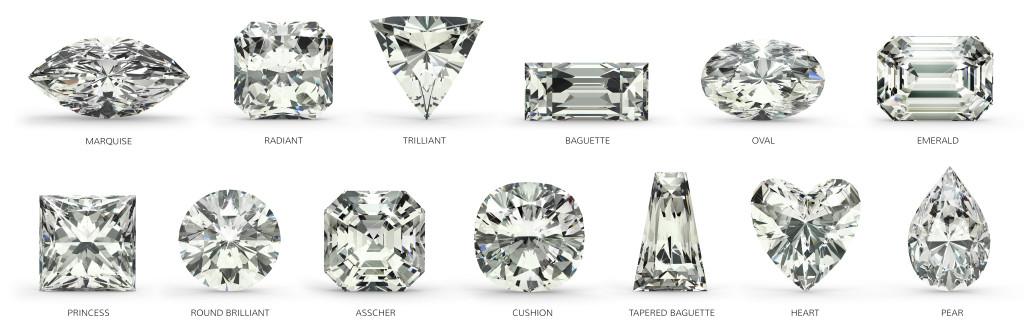 Uncut diamond in rock